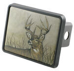 "Deer Trailer Hitch Receiver Cover for 2"" Trailer Hitches"