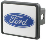 "Ford Oval Reflective Trailer Hitch Receiver Cover for 2"" Trailer Hitches"