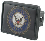 "Navy Trailer Hitch Receiver Cover for 2"" Hitches"