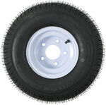 "215/60-8 Bias Trailer Tire with 8"" Steel Wheel - 5 on 4-1/2 - Load Range B"