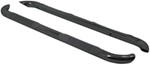 "Westin E-Series Round Nerf Bars - 3"" - Black Powder Coated Steel"