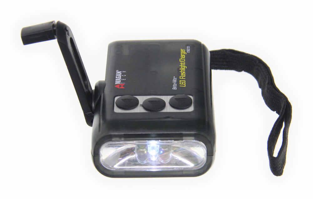 Flashlight, Micro Dynamo 5 LED - Hand Crank