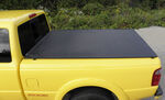 Craftec Hatch-Style Tonneau Cover - Low Profile - Black