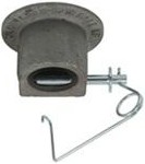 "2-5/16"" Gooseneck Coupler Head with 1/2"" Lock Pin, 30,000 lbs."