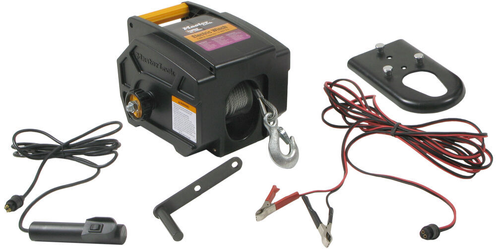 boat trailer winch wiring diagram compare buffalo tools electric vs master lock electric ... #14