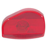 Bargman Surface Mount Tail Light - 07 Series - Red - White Base - Pair w/ 30-07-003