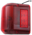 Bargman Wraparound Clearance/Side Marker Light - 86 Series - Red - Black Base