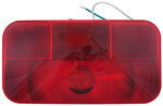 Bargman Surface Mount Tail Light - 92 Series - Red - Black Base