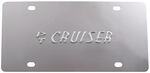 Stainless Steel License Plate PT Cruiser Chrome