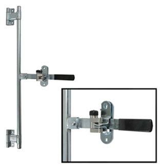 Aluminum Bar Trailer Rear Cargo Side Door Lock Bar Latch Assembly
