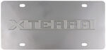 Stainless Steel License Plate Xterra Chrome