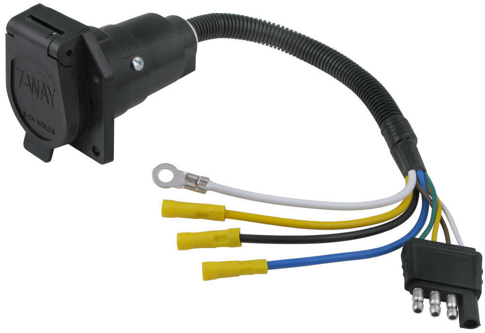 Diagram Wiring Guide For Trailer Plugs Adapters U0026