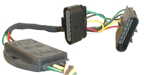 chevy colorado trailer wiring harness plug-n-tow (r) vehicle wiring harness hopkins custom fit ... #14