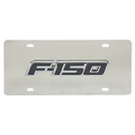 License Plate F150 Chrome
