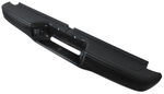 Westin Perfect Match Series Rear Step Bumper - Black Powder Coated Steel