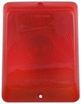Replacement Lens for Bargman Tail Light - 84, 85, 86 Series - Red