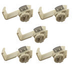 Quick Splice Wire Connectors - Tan - 14-18 AWG (Qty 5)