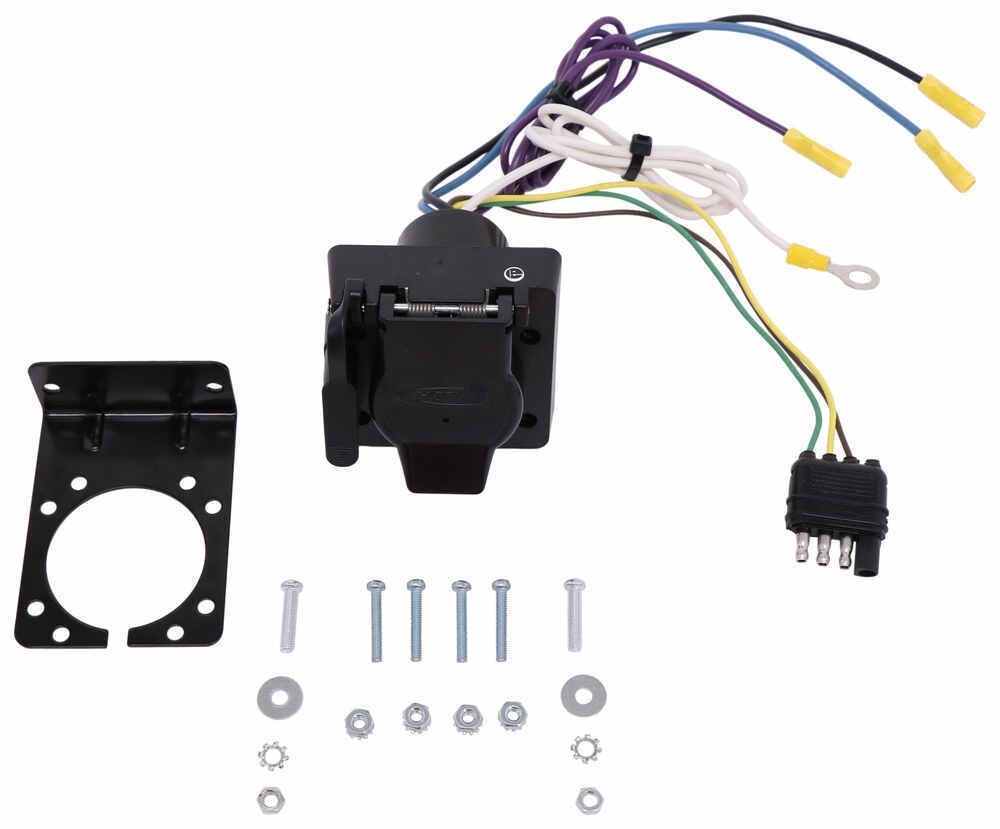 installation of a trailer wiring harness on a 2011 ford
