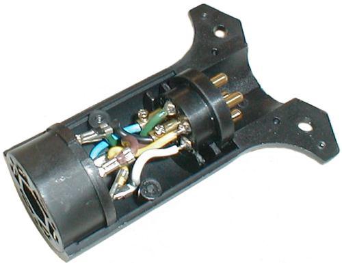 Way Trailer Plug Adapter On Semi 7 Pin Trailer Plug Wiring Diagram