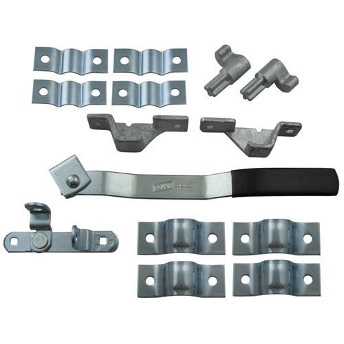 Universal Cam Door Lock For Enclosed Trailers Redline