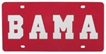University of Alabama License Plate- BAMA