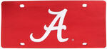 University of Alabama License Plate- A