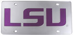 Louisiana State University License Plate- LSU