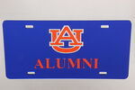 Auburn University License Plate- AU Alumni