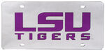 Louisiana State University License Plate- LSU Tigers