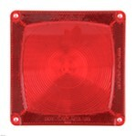 Replacement Red Lens for Wesbar Standard Submersible Tail Light