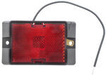 Peterson Red Rectangular Trailer Clearance Light with Reflector, Surface Mount, 115R