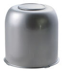 "Trailer Wheel Center Cap, Chrome, 4.25"" Pilot Size"