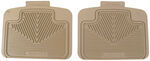 Auto Floor Mats All Weather - Car Truck SUV - Tan, 2 pc universal