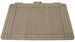 Auto Cargo Liner All Weather - Universal Cargo Mat - Tan
