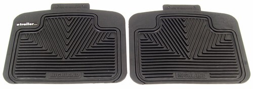 1989 Pontiac Safari Floor Mats Highland 46031