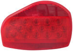Bargman Surface Mount LED Tail Light - 07 Series - Red - White Base - Pair w/ 47-07-003