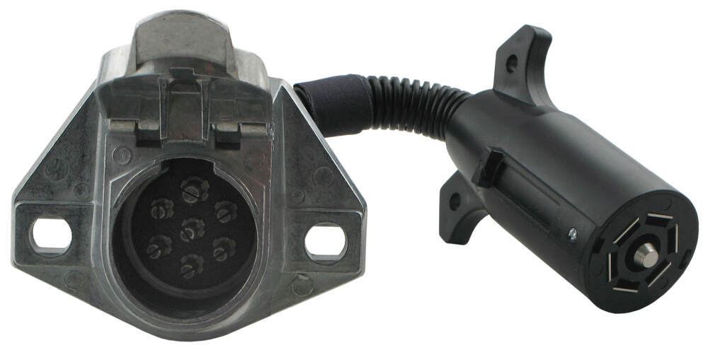 pin round trailer plug adapter on pollak 7 way rv plug wiring diagram