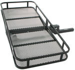 "24x60 Folding Cargo Carrier for 2"" Trailer Hitches"