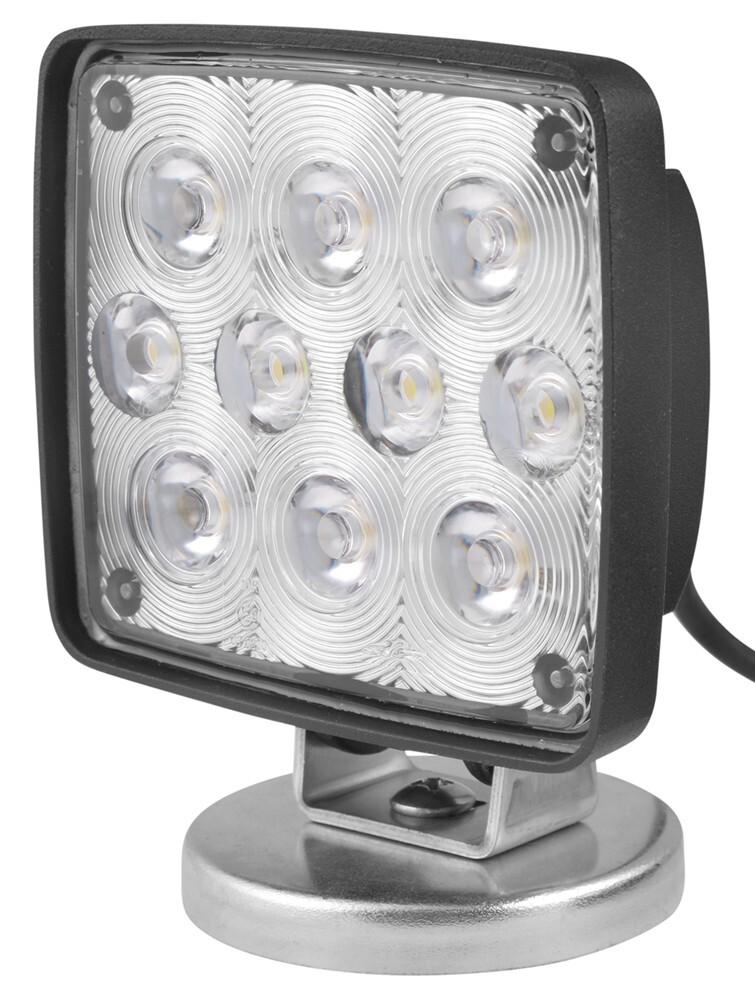 Led Utility Light : Wesbar led utility light with magnetic base rectangular
