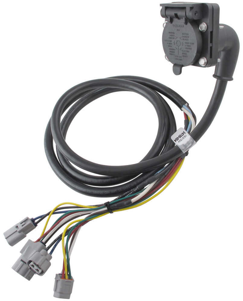 tow ready 90 degree fifth wheel adapter wiring harness with 7 pole toyota tundra tow ready