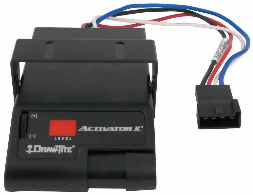 draw-tite activator ii trailer brake controller - 1 to 4 ... activator 2 brake controller wiring diagram