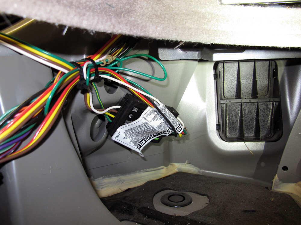 custom fit vehicle wiring by curt for 2013 murano 55571