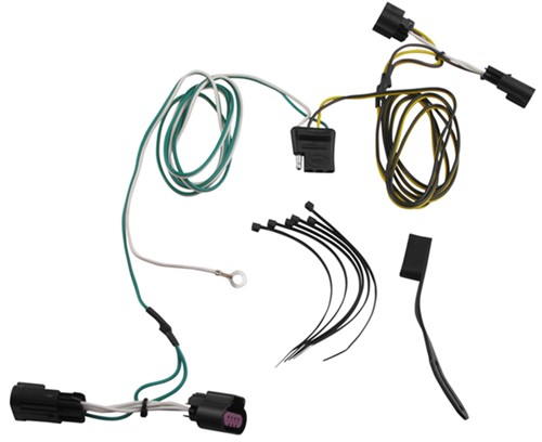 2010 Chevrolet Equinox Custom Fit Vehicle Wiring Curt 56094