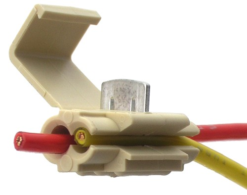 Quick Splice Wire Connector Tan 14 18 Awg Qty 1