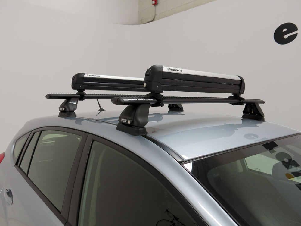Rhino Rack Locking Ski And Snowboard Carrier Roof Mount