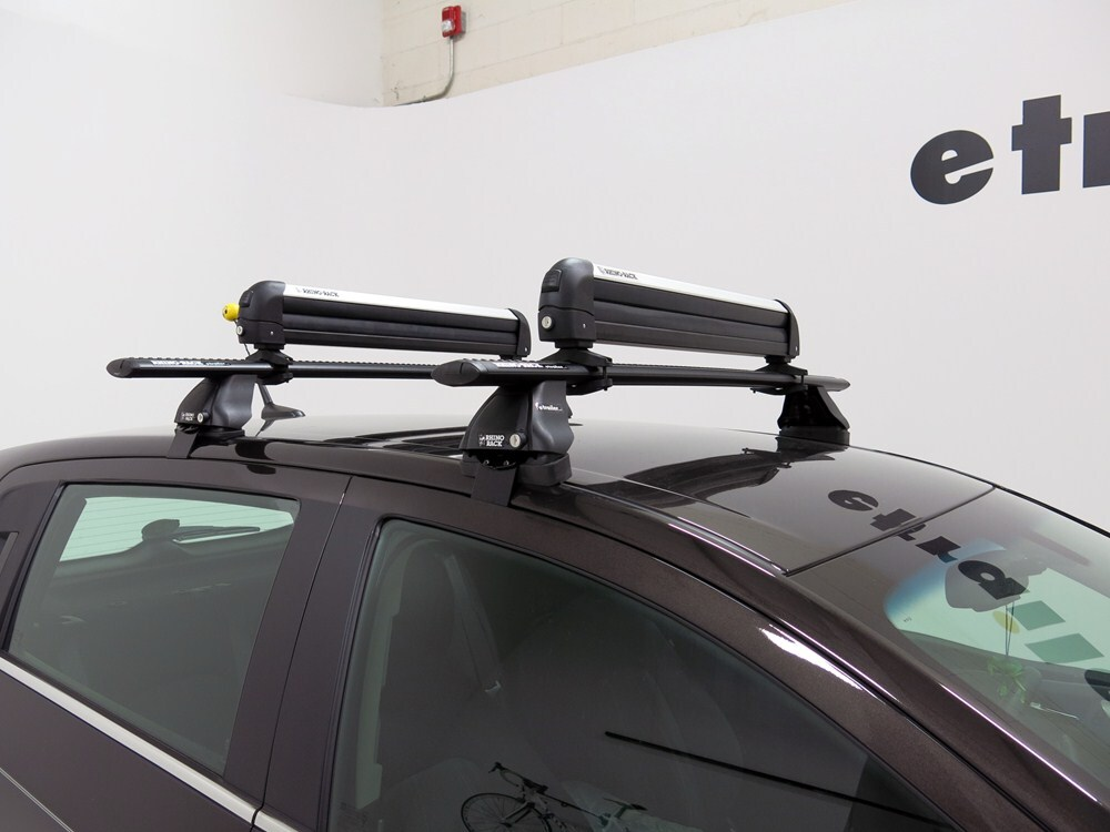 Rhino Rack Locking Ski And Snowboard Carrier Roof Mount