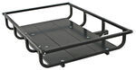 "48x32 GearCage Extra Large Cargo Carrier with Side Rails for 2"" Trailer Hitches"