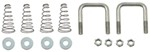 Replacement U-bolt Safety Chain Kit for Hide-a-Goose
