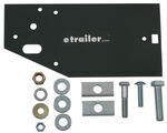 Factory Brake Controller Relocation Bracket Kit for Fifth Wheel and Gooseneck Rails