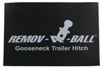 Replacement Magnetic cover for Remov-A-Ball Gooseneck Hitch